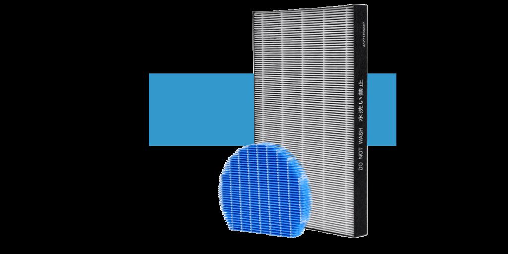 Zestaw filtrów sharp KCA40EUW